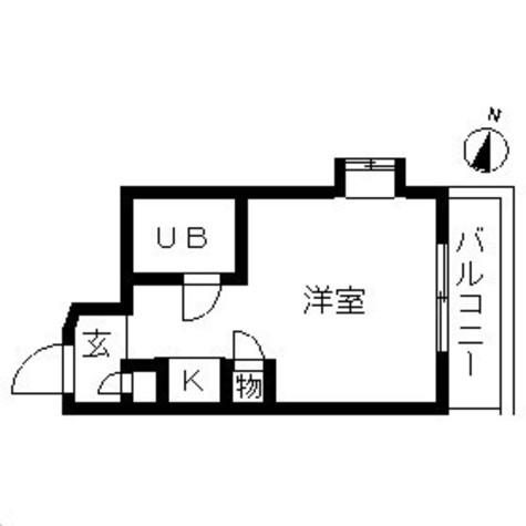 TOP横浜東白楽(トップ横浜東白楽) / 301 部屋画像1