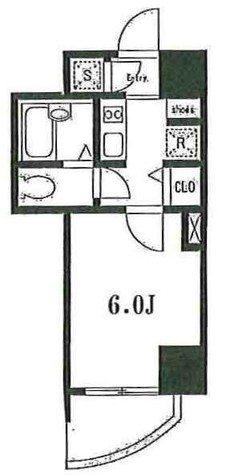 フェリーシア三田 / 3階 部屋画像1