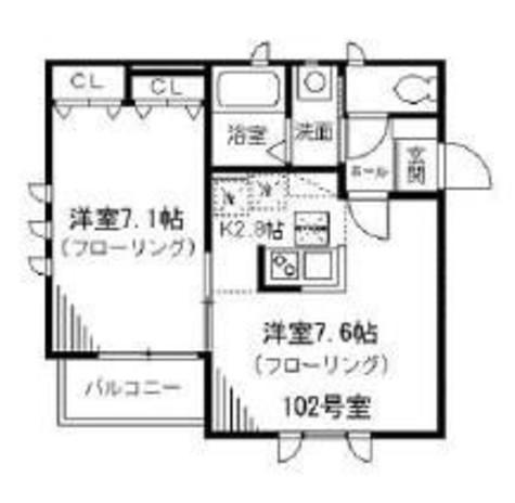 ドルフベルク大塚 / 1階 部屋画像1
