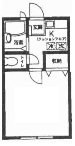 サンガーデンM柳川 / 1階 部屋画像1