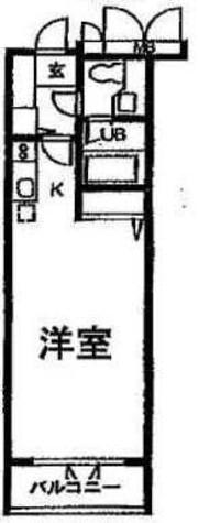 アーデン目黒通り(旧ミルーム目黒通り) / 210 部屋画像1