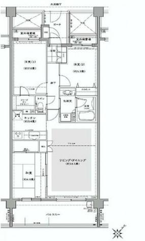 コートヒルズ横濱山手 / 5階 部屋画像1