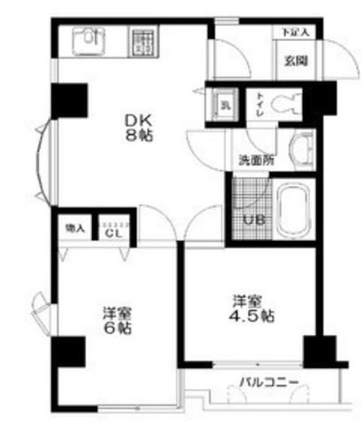 日神パレス鶴見市場 / 4階 部屋画像1
