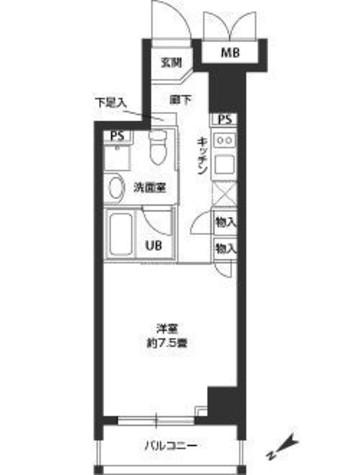 蔵前 3分マンション / 604 部屋画像1