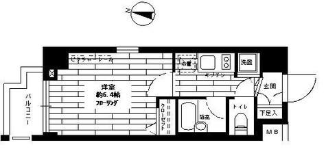 ステージファースト西大井二番館 / 3階 部屋画像1