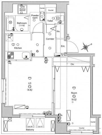 ベレール日本橋兜町 / 9階 部屋画像1