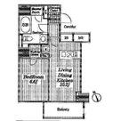 コートヒルズ広尾南 / 1501 部屋画像1