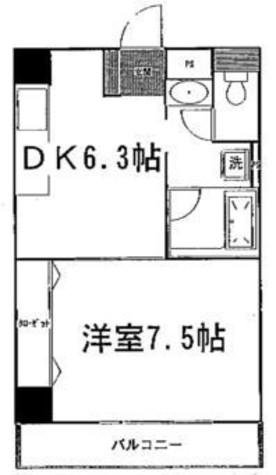 K・SグランディールWATANABE / 3階 部屋画像1