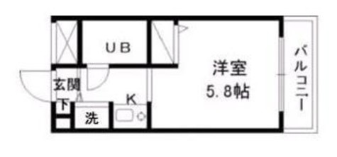 ジョイフル新丸子第2 / 2階 部屋画像1