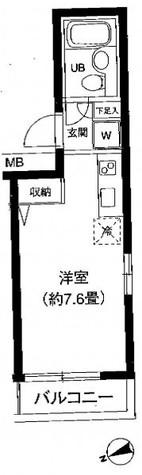 Studio1010 / 3階 部屋画像1
