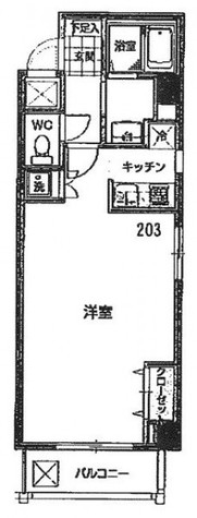 フィオーレ・浅草 / 2階 部屋画像1