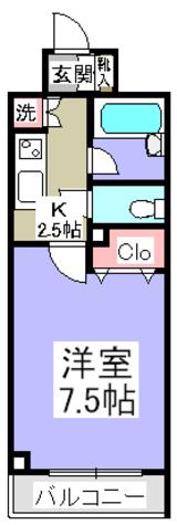スペーシア秋葉原 / 8階 部屋画像1