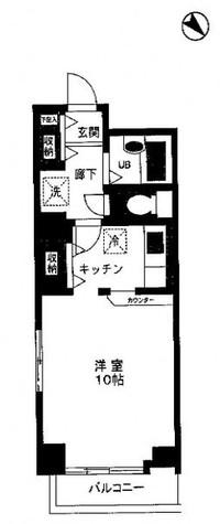 コンフォート東麻布 / 2階 部屋画像1