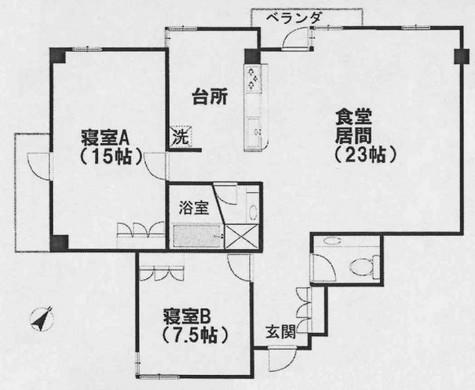 メゾンブーケ / 4階 部屋画像1