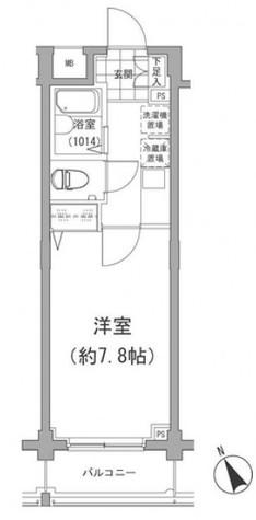 アーデン目黒不動前(旧パークハビオ目黒不動前) / 1階 部屋画像1
