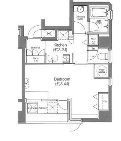 ルーチェ高輪 / 8階 部屋画像1