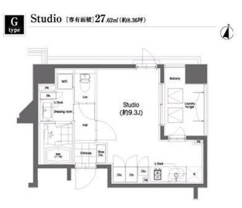 コンフォリア笹塚 / 9階 部屋画像1