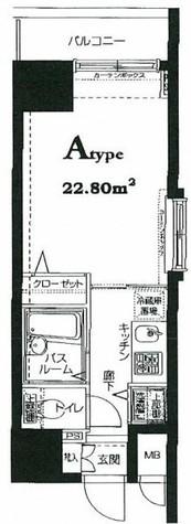 HF東神田レジデンス(旧エルミタージュ東神田) / 301 部屋画像1