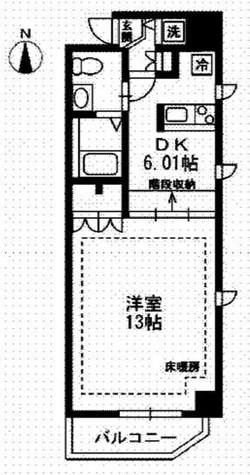 レジディア上野御徒町 / 609 部屋画像1