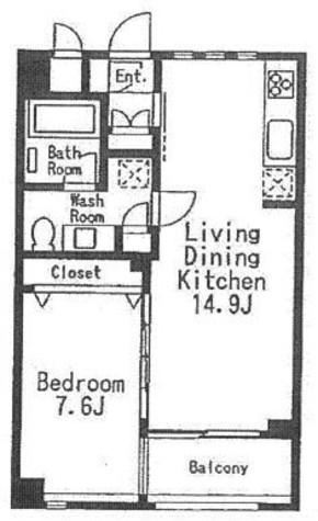 学芸大学 10分マンション / 5階 部屋画像1