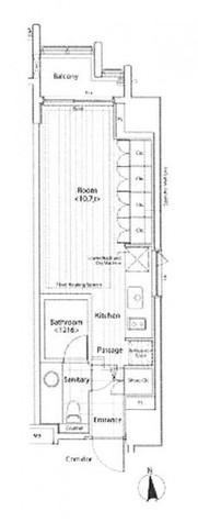 カスタリア麻布十番Ⅱ / 11階 部屋画像1