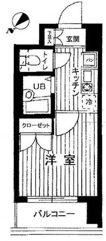 ヴェルト目黒西 / 406 部屋画像1
