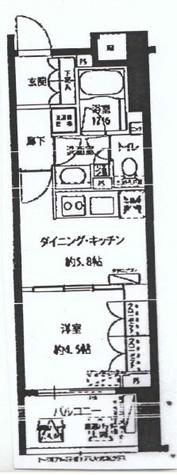 フォレシティ富ヶ谷 / 402 部屋画像1