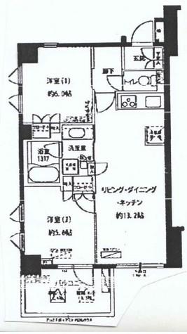 フォレシティ富ヶ谷 / 505 部屋画像1