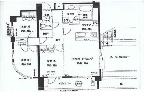 フォレシティ富ヶ谷 / 8階 部屋画像1