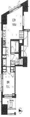 プライムアーバン本駒込( 旧アパートメンツ本駒込) / 5階 部屋画像1