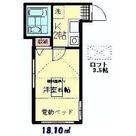 コパルタージュ・F / 203 部屋画像1