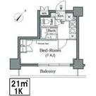レジディア月島Ⅲ / 905 部屋画像1