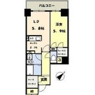 CORES KACHIDOKI(コアーズ勝どき) / 301 部屋画像1