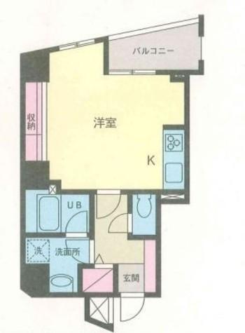 アムス天王洲 / 701 部屋画像1