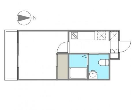 スカイコート品川御殿山EAST / 4階 部屋画像1