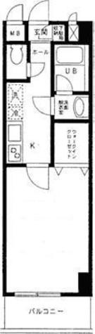 ソリッド大橋 / 7階 部屋画像1