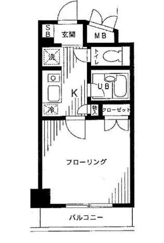 御茶ノ水 5分マンション / 5階 部屋画像1