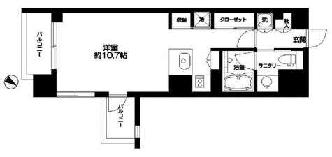 CATS原宿(キャッツ原宿) / 403 部屋画像1