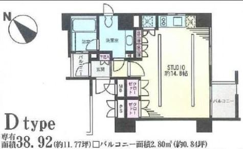 CATS原宿(キャッツ原宿) / 404 部屋画像1