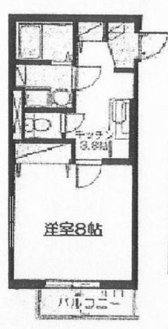 ガーデンサイド広尾 / 203 部屋画像1