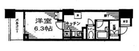 レジディア日本橋馬喰町 / 2階 部屋画像1