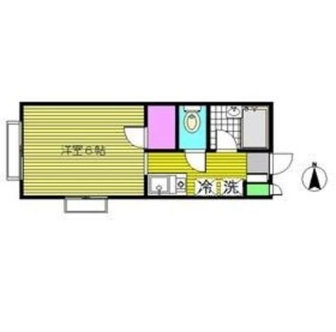 ハイツ三浦 / 102 部屋画像1