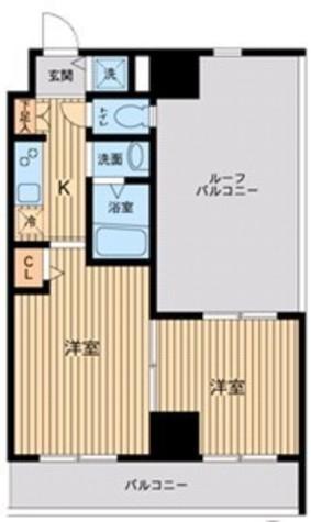 HF東神田レジデンス(旧エルミタージュ東神田) / 1204 部屋画像1