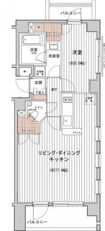 プラチナコート南麻布 / 7階 部屋画像1