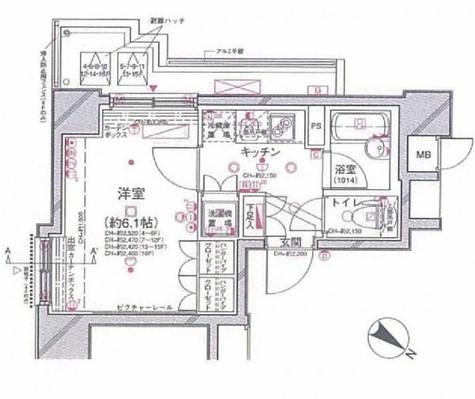 パレステュディオ渋谷ステーションフロント / 10階 部屋画像1