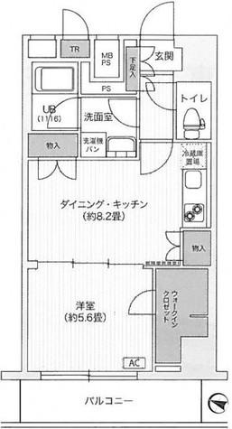 アンテニア東五反田 / 1003 部屋画像1