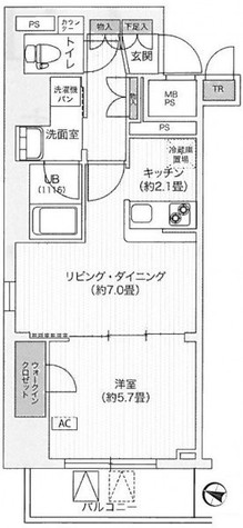 アンテニア東五反田 / 1004 部屋画像1