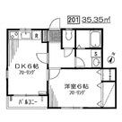 パークハウス清水池Ⅱ / 2階 部屋画像1