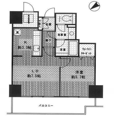 トレステージ目黒 / 406 部屋画像1