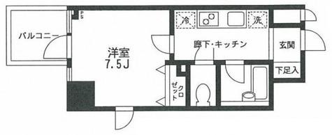 プライムアーバン飯田橋 / 807 部屋画像1